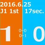 2016 1st ステージ 第17節(A)アルビレックス新潟戦