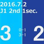 2016 2nd ステージ 第1節(H)FC東京戦