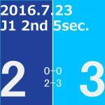 2016 2nd ステージ 第5節(A)アビスパ福岡戦