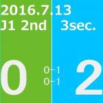 2016 2nd ステージ 第3節(A)湘南ベルマーレ戦